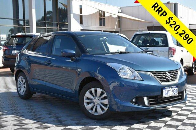 Demo Suzuki Baleno EW GL, 2019 Suzuki Baleno EW GL Premium Urban Blue 4 Speed Automatic Hatchback