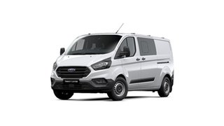 2019 Ford Transit Custom VN 2019.75MY 340L (Low Roof) White 6 Speed Automatic Double Cab Van.