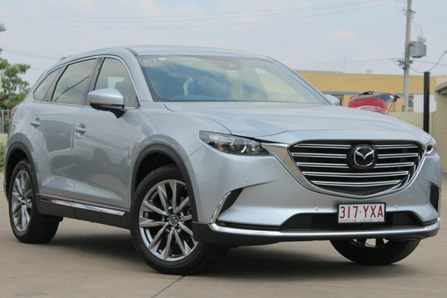 Used Mazda CX-9 TC GT SKYACTIV-Drive i-ACTIV AWD, 2019 Mazda CX-9 TC GT SKYACTIV-Drive i-ACTIV AWD Sonic Silver 6 Speed Sports Automatic Wagon