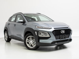 2019 Hyundai Kona OS.2 MY19 Active (AWD) Lake Silver 7 Speed Auto Dual Clutch Wagon.