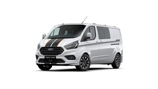 2020 Ford Transit Custom VN 2019.75MY 320L (Low Roof) Sport Frozen White 6 Speed Automatic Van.
