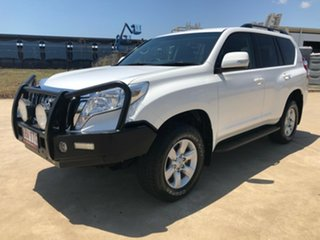 2013 Toyota Landcruiser Prado KDJ150R GXL White 5 Speed Sports Automatic Wagon