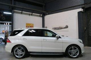 2014 Mercedes-Benz M-Class W166 MY805 ML500 7G-Tronic + White 7 Speed Sports Automatic Wagon.