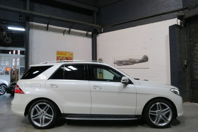 Used Mercedes-Benz M-Class W166 MY805 ML500 7G-Tronic +, 2014 Mercedes-Benz M-Class W166 MY805 ML500 7G-Tronic + White 7 Speed Sports Automatic Wagon