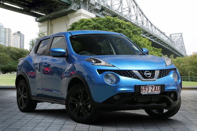 Demo Nissan Juke F15 MY18 Ti-S X-tronic AWD, 2019 Nissan Juke F15 MY18 Ti-S X-tronic AWD Vivid Blue 1 Speed Constant Variable Hatchback