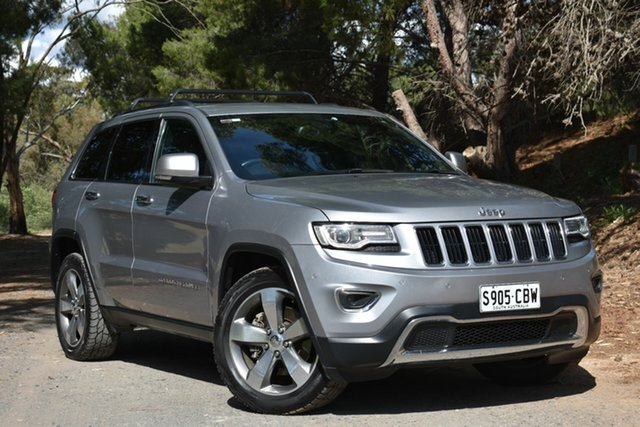 Used Jeep Grand Cherokee WK MY2014 Limited, 2013 Jeep Grand Cherokee WK MY2014 Limited Silver 8 Speed Sports Automatic Wagon