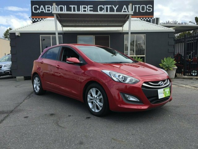 Used Hyundai i30 GD MY14 Trophy, 2014 Hyundai i30 GD MY14 Trophy Red 6 Speed Manual Hatchback