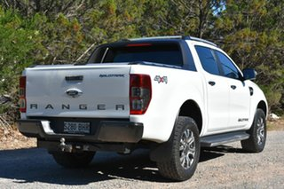 2015 Ford Ranger PX MkII Wildtrak Double Cab White 6 Speed Sports Automatic Utility.