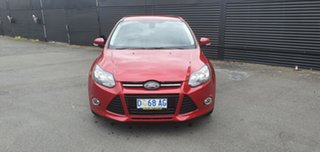 2011 Ford Focus LW Titanium PwrShift Red 6 Speed Sports Automatic Dual Clutch Sedan.