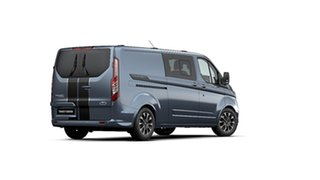 2020 Ford Transit Custom VN 2019.75MY 320L (Low Roof) Sport Blue 6 Speed Automatic Double Cab Van