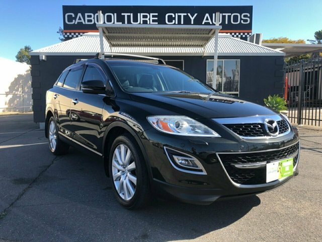 Used Mazda CX-9 10 Upgrade Grand Touring, 2010 Mazda CX-9 10 Upgrade Grand Touring Black 6 Speed Auto Activematic Wagon