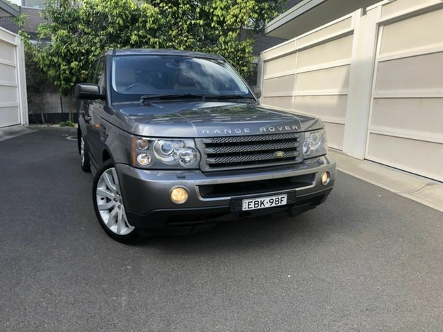 Used Land Rover Range Rover Sport L320 08MY TDV6, 2008 Land Rover Range Rover Sport L320 08MY TDV6 Grey 6 Speed Sports Automatic Wagon