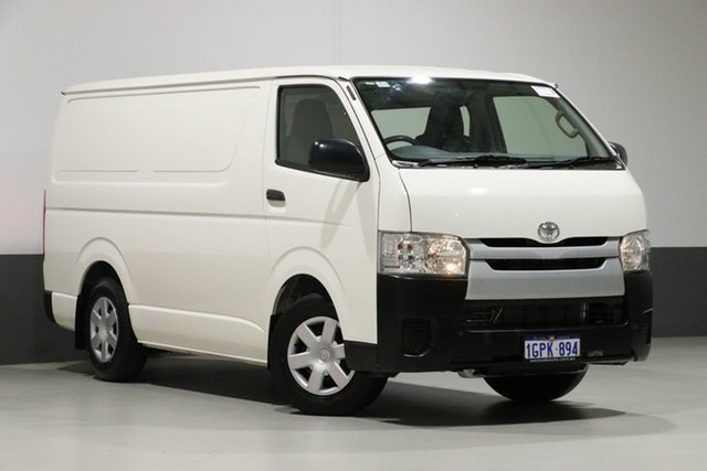 Used Toyota HiAce TRH201R MY16 LWB, 2018 Toyota HiAce TRH201R MY16 LWB White 6 Speed Automatic Van