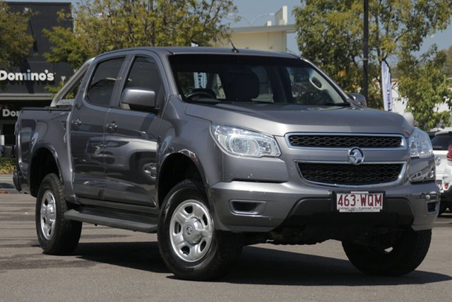 Used Holden Colorado RG MY16 LS Crew Cab, 2016 Holden Colorado RG MY16 LS Crew Cab Grey 6 Speed Sports Automatic Utility