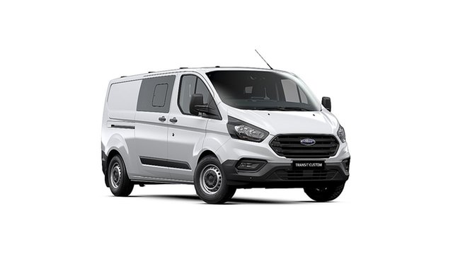 New Ford Transit Custom VN 2019.75MY 340L (Low Roof), 2019 Ford Transit Custom VN 2019.75MY 340L (Low Roof) White 6 Speed Automatic Double Cab Van