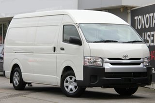 2018 Toyota HiAce TRH221R High Roof Super LWB French Vanilla 6 Speed Automatic Van.