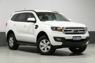 2018 Ford Everest UA MY18 Ambiente (RWD 5 Seat) White 6 Speed Automatic Wagon.