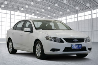 2011 Ford Falcon FG XT Winter White 6 Speed Sports Automatic Sedan.