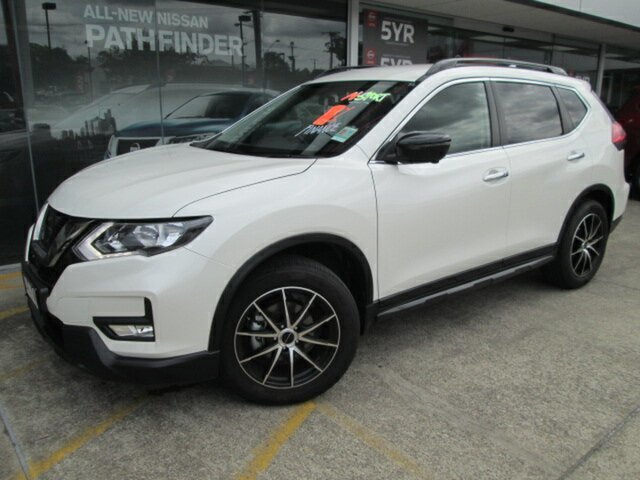 Demo Nissan X-Trail T32 Series II ST-L X-tronic 2WD N-SPORT, 2018 Nissan X-Trail T32 Series II ST-L X-tronic 2WD N-SPORT Ivory Pearl 7 Speed Constant Variable