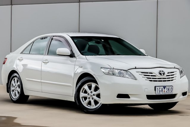 Used Toyota Camry ACV40R Altise, 2008 Toyota Camry ACV40R Altise White 5 Speed Manual Sedan