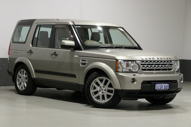 Used Land Rover Discovery 4 MY12 2.7 TDV6, 2011 Land Rover Discovery 4 MY12 2.7 TDV6 Gold 6 Speed Automatic Wagon