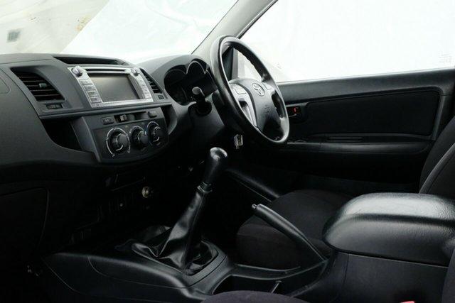 Used Toyota Hilux KUN16R MY14 SR Double Cab 4x2, 2014 Toyota Hilux KUN16R MY14 SR Double Cab 4x2 Glacier 5 Speed Manual Utility