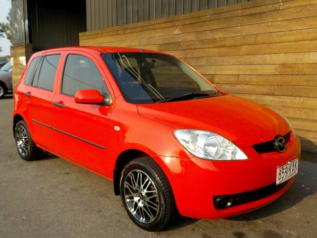 Used Mazda 2 DY10Y2 Neo, 2006 Mazda 2 DY10Y2 Neo Red 4 Speed Automatic Hatchback