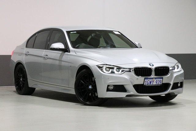 Used BMW 330i F30 LCI MY18 M Sport, 2018 BMW 330i F30 LCI MY18 M Sport Silver 8 Speed Automatic Sedan