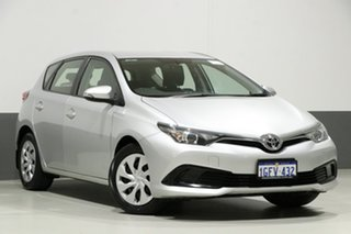 2017 Toyota Corolla ZRE182R MY17 Ascent Silver 7 Speed CVT Auto Sequential Hatchback.