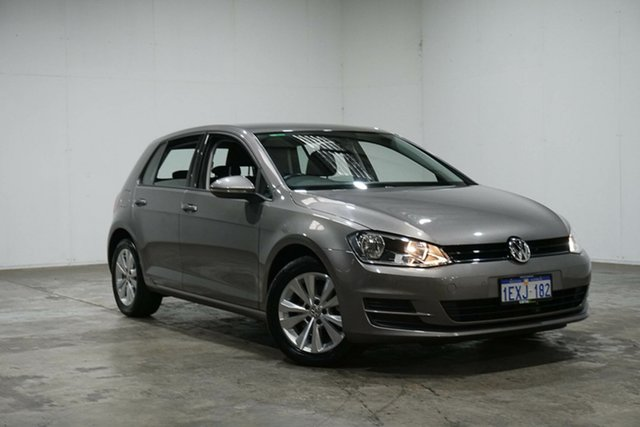 Used Volkswagen Golf VII MY15 90TSI Comfortline, 2015 Volkswagen Golf VII MY15 90TSI Comfortline Grey 6 Speed Manual Hatchback