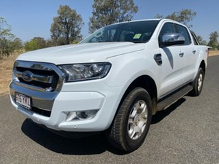 2018 Ford Ranger PX MkII 4x4 XLT Double Cab Pickup 3.2L Frozen White 6 Speed Manual Utility