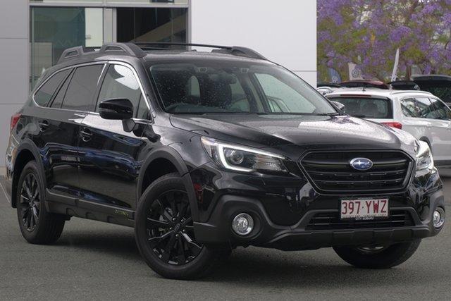 Demo Subaru Outback B6A MY19 2.5i-X CVT AWD, 2019 Subaru Outback B6A MY19 2.5i-X CVT AWD Crystal Black 7 Speed Wagon