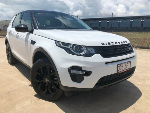Used Land Rover Discovery Sport L550 16MY SD4 HSE, 2015 Land Rover Discovery Sport L550 16MY SD4 HSE White 9 Speed Sports Automatic Wagon