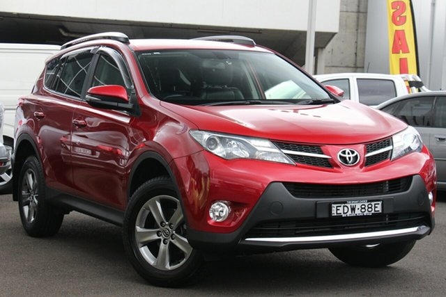 Used Toyota RAV4 ZSA42R MY14 GXL 2WD, 2015 Toyota RAV4 ZSA42R MY14 GXL 2WD Red 7 Speed Constant Variable Wagon