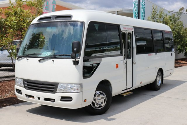 Used Toyota Coaster  , 2007 Toyota Coaster STANDARD White Bus