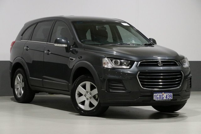 Used Holden Captiva CG MY16 5 LS (FWD), 2016 Holden Captiva CG MY16 5 LS (FWD) Graphite 6 Speed Automatic Wagon