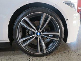 2016 BMW 3 Series F30 LCI 320d M Sport White 8 Speed Sports Automatic Sedan