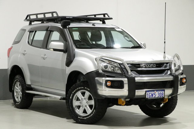 Used Isuzu MU-X UC LS-M (4x4), 2015 Isuzu MU-X UC LS-M (4x4) Silver 5 Speed Manual Wagon