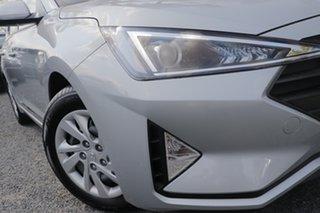 2019 Hyundai Elantra AD.2 MY19 Go Typhoon Silver 6 Speed Sports Automatic Sedan.