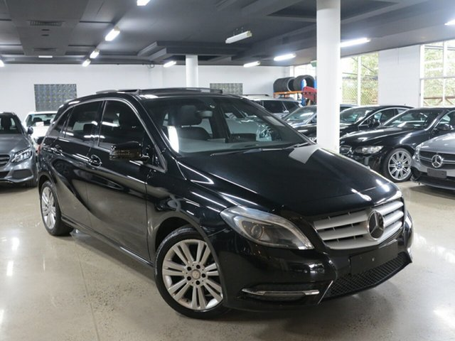 Used Mercedes-Benz B-Class W246 B180 DCT, 2013 Mercedes-Benz B-Class W246 B180 DCT Black 7 Speed Sports Automatic Dual Clutch Hatchback