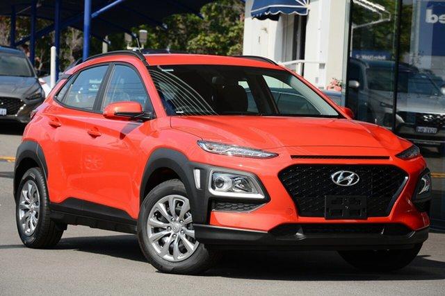 New Hyundai Kona OS.3 MY20 Go 2WD, 2019 Hyundai Kona OS.3 MY20 Go 2WD Tangerine Comet 6 Speed Sports Automatic Wagon