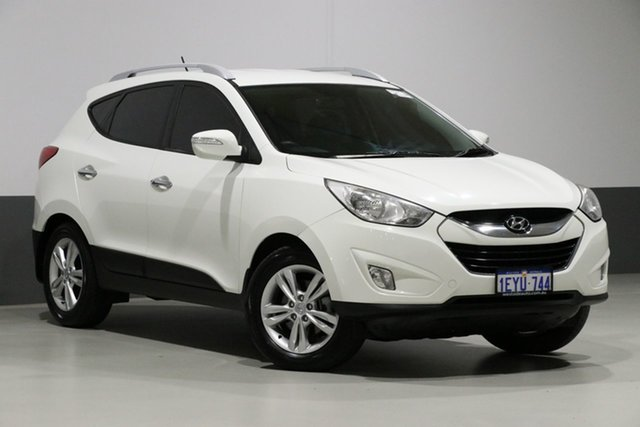 Used Hyundai ix35 LM MY11 Elite (AWD), 2011 Hyundai ix35 LM MY11 Elite (AWD) White 6 Speed Automatic Wagon