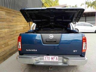 2011 Nissan Navara D40 MY11 ST Blue 6 Speed Manual Utility