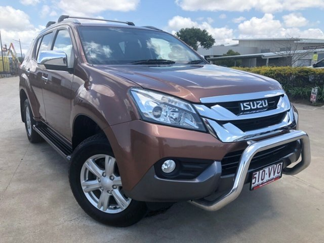 Used Isuzu MU-X MY15 LS-T Rev-Tronic 4x2, 2015 Isuzu MU-X MY15 LS-T Rev-Tronic 4x2 Bronze 5 Speed Sports Automatic Wagon