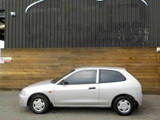 2000 Mitsubishi Mirage CE Silver 5 Speed Manual Hatchback