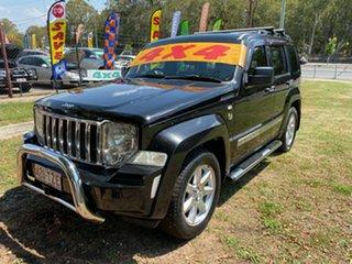 2011 Jeep Cherokee KK Limited 70th Anniversary (4x4) Black 4 Speed Automatic Wagon.