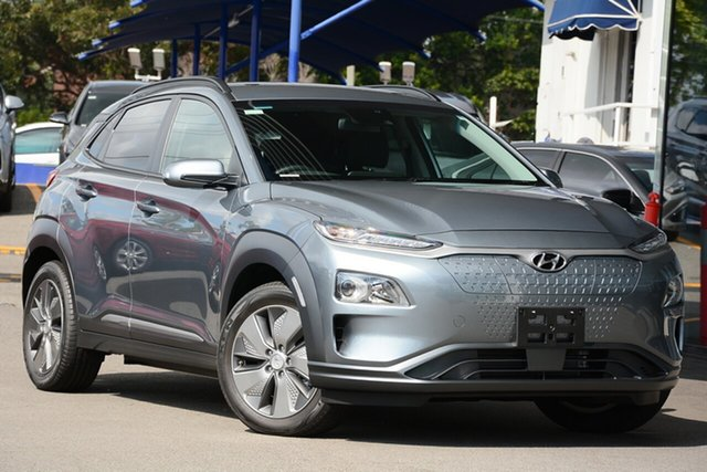 New Hyundai Kona OSEV.2 MY20 electric Elite Hobart, 2020 Hyundai Kona OSEV.2 MY20 electric Elite Lake Silver 1 Speed Reduction Gear Wagon