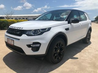 2015 Land Rover Discovery Sport L550 16MY SD4 HSE White 9 Speed Sports Automatic Wagon
