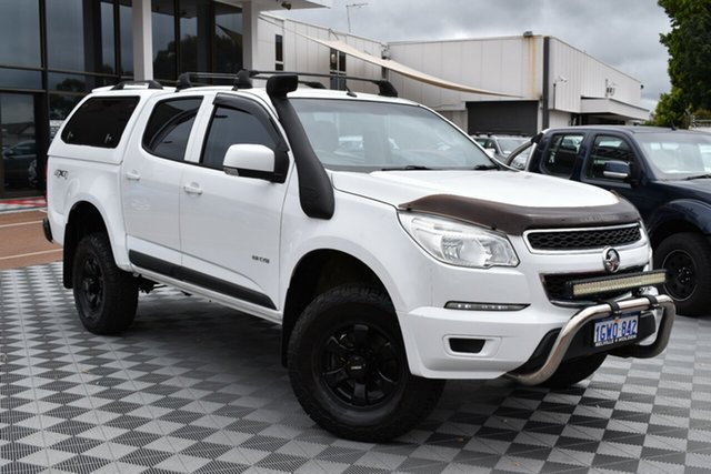Used Holden Colorado RG MY14 LX Crew Cab 4x2, 2013 Holden Colorado RG MY14 LX Crew Cab 4x2 White 6 Speed Sports Automatic Utility