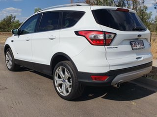 2018 Ford Escape ZG 2018.00MY Titanium PwrShift AWD Frozen White 6 Speed